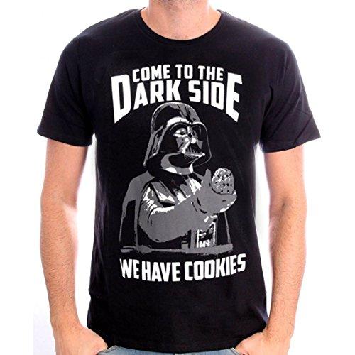 COTTON DIVISION t- Shirt Star Wars, Noir, M Homme