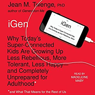 iGen audiobook cover art