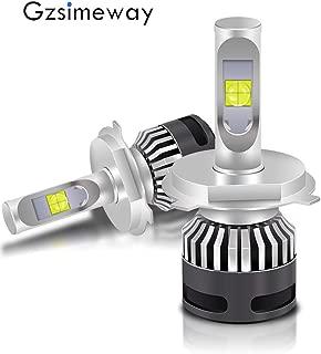 Automotive LED Headlight H4 hi/lo bulbs kit 6000K cool white 120W 14000lm-waterproof plug & play,CREE XHP70.2 led chips Used for Headlight,Fog Light,motorcycle H4 lamp (H4 Hi/lo)