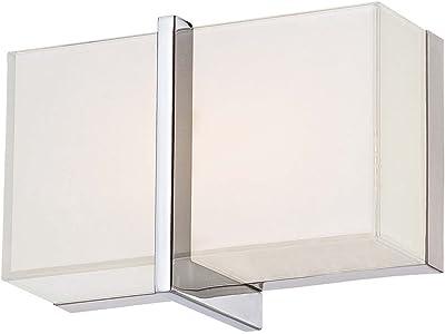 Minka Lavery 2921-77-L High Rise LED Bath Lighting, Chrome