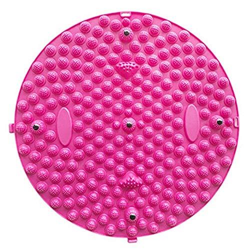 Voetmassagemat, groot shiatsu-kussen, fitnessmat, magnetische voeten stimulator, acupressuurkussen, vaderdagcadeau (een stuk),Pink