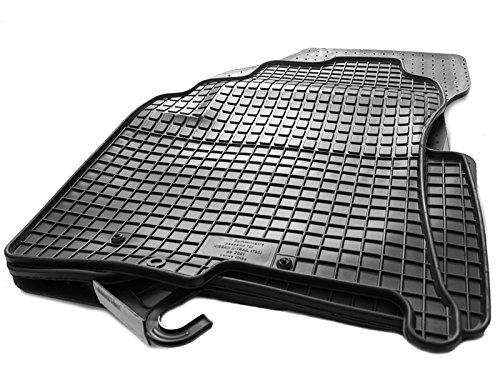 Caoutchouc tapis de sol pour nissan x-trail (t30) 2001–2007 original qualité voiture tapis caoutchouc 4 pièces noir