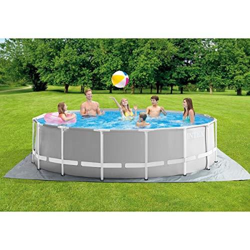Intex Swimming Pool Komplettset Stahlwand 457x122cm Schwimmbecken Schwimmbad