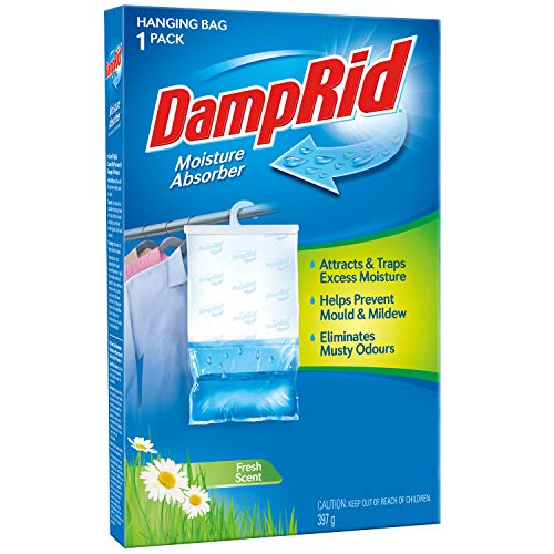 Buy DampRid FBA FG80 Hanging Moisture Absorber Fresh Scent, 14-Ounce, 14 oz, Blue