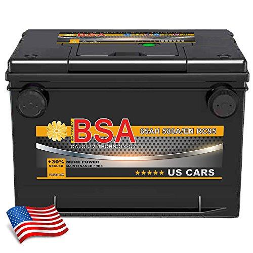 BSA BATTERY HIGH QUALITY BATTERIES Autobatterie 65Ah für USA amerikanische Fahrzeuge Sebring, Startus