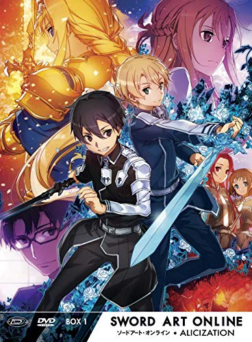 Sword Art Online III Alicization - Temporada 1 Box #01 (Eps 01-12) [Italia] [DVD]