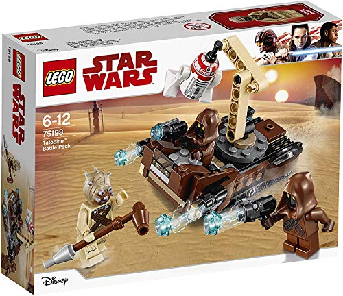 LEGO Star Wars- Tatooine Battle Pack Lego Juego de Construccion, Multicolor, unica (75198)