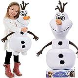 La Reine des Neiges Olaf le bonhomme de neige disney peluche figurine 65cm GRANDE XXL Frozen peluche en peluche