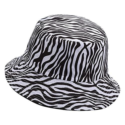 Gorra De Béisbol Classic Unisex Sombrero De Cubo Primavera Verano Sombreado Negro Blanco Gorra De Impresión Hip Hop Hombres Mujeres Gorra Playa Pescad