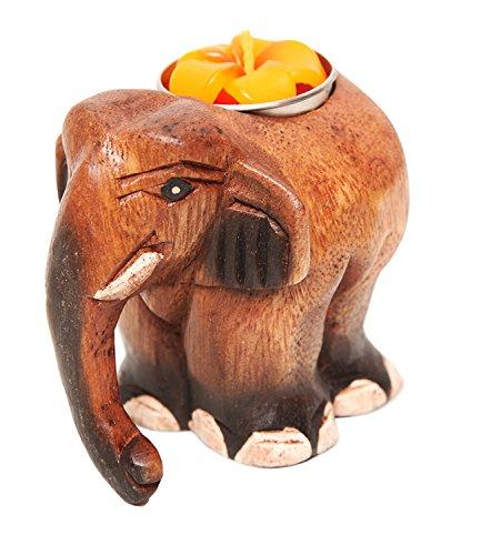 The Hippy Clothing Co. Elephant Tea Light Holder
