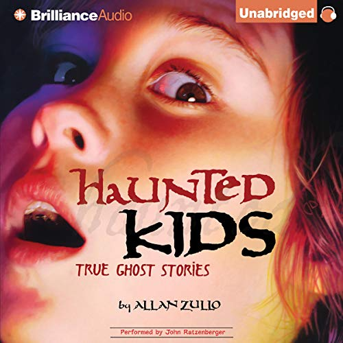 Haunted Kids audiobook cover art