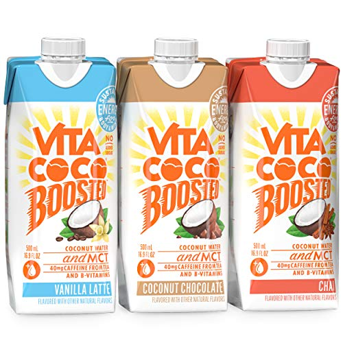 Vita Coco Boosted Coconut Water Sampler Pack 3-Pack Now $4.49 (Was $8.99)