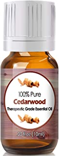 Cedarwood Essential Oil for Diffuser & Reed Diffusers (100% Pure Essential Oil) 10ml
