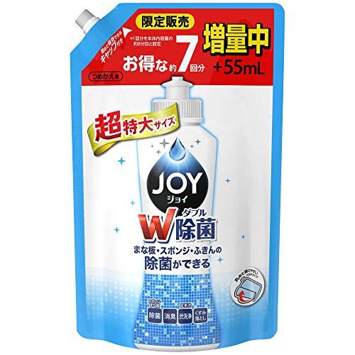 除菌ジョイ コンパクト 食器洗剤 詰め替え 超特大増量 1120 mL
