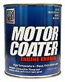 KBS Coatings 60302 Gloss Black Motor Coater Engine Paint - 1 Pint