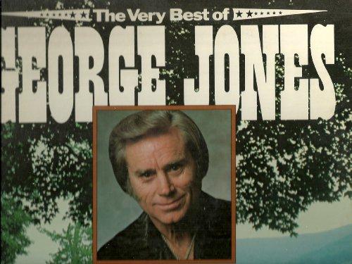 GEORGE JONES - very best of CSP 16453 (LP vinyl record)