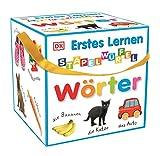 Erstes Lernen - Stapelwürfel Wörter: 10 stabile Karton-Würfel mit tollen Fotos zum...