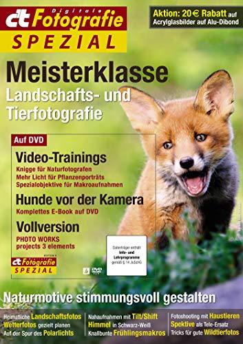 c't Fotografie Spezial: Meisterklasse Edition 9: Landschafts- und Tierfotografie