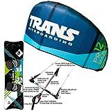 Unbekannt Kite Set Trans Prime V2~9 QM + BAR + Bag + LEICHTWIND Prime Kiteboard 161 cm -