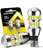 AUXITO T16 LED バックランプ 爆光 4倍明るさUP バックランプ T16 / T15 4014 LED 42連 24ヶ月保証 12V 無極性 ホワイト 後退灯 バックライト 50000時間以上寿命 (2個セット)