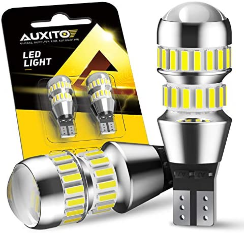 AUXITO 912 921 LED Bulbs for Backup Reverse Light Bulbs 2600 Lumens 4014 42 SMD 6000K White product image
