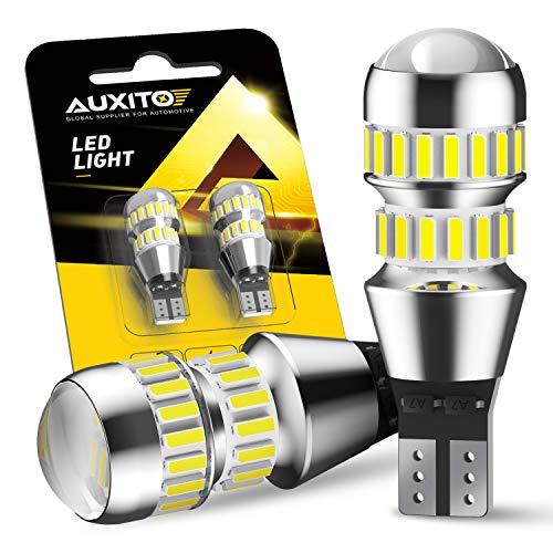 AUXITO 912 921 LED Bulb for Backup Reverse Light Bulbs, 2600 Lumens 4014 42-SMD, 6000K White,...