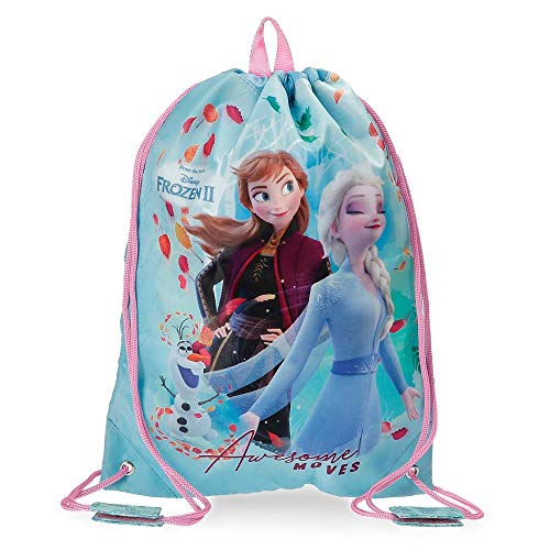 Frozen Awesome Moves Mochila Saco, Azul