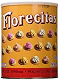 Florecitas Ice Gem Cookies by Royal Borinquen in Puerto Rico - 13 oz, 2 Cans