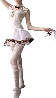 Sexy Lingerie Set Uniform Temptation Suit Sexy Underwear Maid Outfit Dresses Cosplay Suit Lace Transparent Negligees Dress...