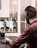 Mpow H12 Auriculares con Cancelación de Ruido, Auriculares Bluetooth Diadema 5.0 con Micrófono CVC 6.0, 30 Hrs de Reproducir, Cascos con Cancelación de Ruido para Videollamada/Skype/PC/TV/Móvil
