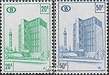 Prophila Collection Bélgica Michel.-No..: EP350x-EP351x (Completa.edición.) 1975 congreso-estación de Tren Eisenbahnpaketmark (Sellos para los coleccionistas) vehículos sobre raíles / funicular