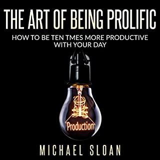 The Art of Being Prolific audiobook cover art
