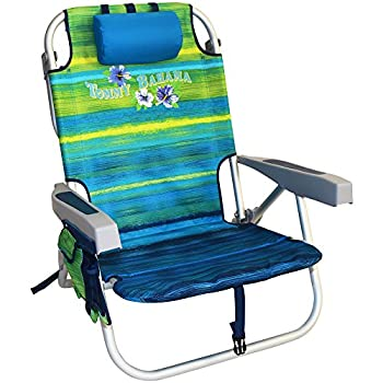 Backpack Cooler chair from Tommy Bahama with storage pouch