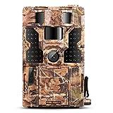 Dohiker Caméra de Chasse 20MP 1080P Caméra Surveillance avec 48Pcs LED Vision Nocturne Infrarouge...