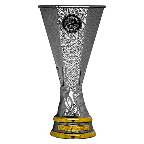 UEFA EUROPA LEAGUE Unisex-Adult Magnet 2D Pokal (70 mm), Silber