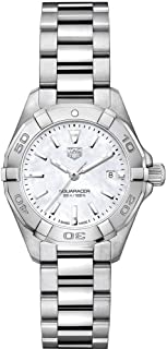 Aquaracer White Mother of Pearl Dial Ladies Watch WBD1411.BA0741