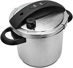 Home Cooking & Dining Cookware Pressure Cookers 304 Stainless Steel 20cm Pressure Cooker 5.5L Gas Stove Induction Cooker Available Home Kitchen Pressure Cookers