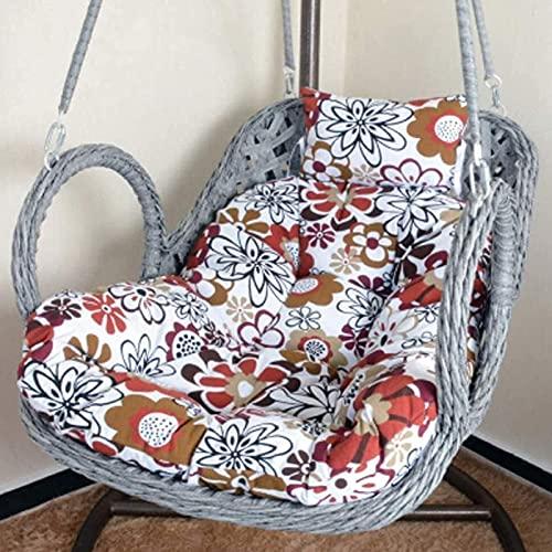 Egg Hammock Chair Pads, Verdicken Sie weiche Hängekorb-Stuhlkissen, Gartenschaukel Rattan Nest Hängendes Papasan Kissen