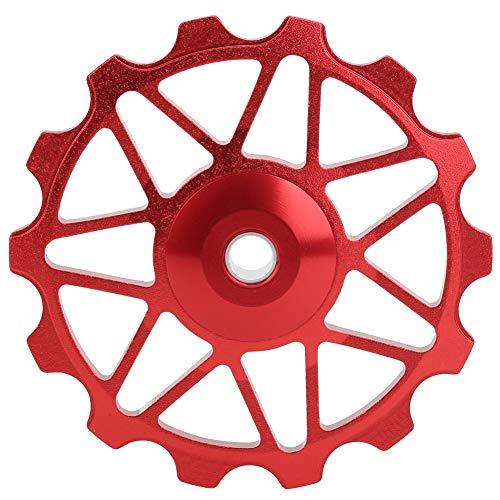 Felenny Rear Derailleur Pulley 14T Mountain Road Bike Metal Ceramics Bearings Rear Derailleur Guide Roller Cycling Equipment for Mountain Road Bike