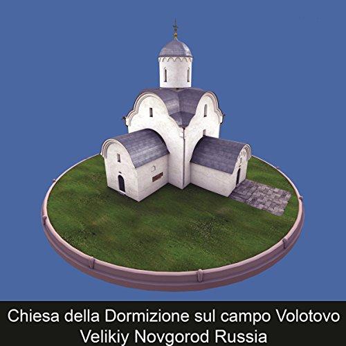 Chiesa della Dormizione sul campo Volotovo Velikiy Novgorod Russia copertina
