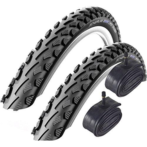 Schwalbe Land Cruiser 700 x 35c Hybrid Bike Tyres with Schrader Tubes (Pair)
