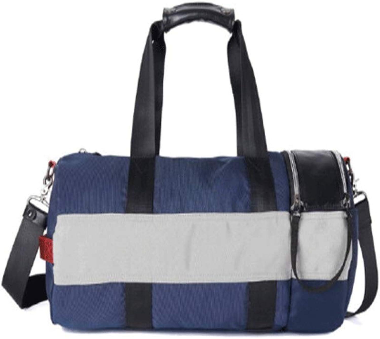 Haoyushangmao Travel Bag, Sports Gym Bag, Leisure Training Bag, blueee, Best Gift Latest Models