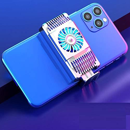 Teléfono refrigerador Radiador para/Android Gaming Semiconductor Sembladura Teléfono de Celular Ventilador de refrigeración