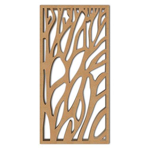 Great Deal! NISH! 'Deco Panel' | Use asRoom Partition, Screen, Divider, Wall Art, Hanging, Door (MDF...