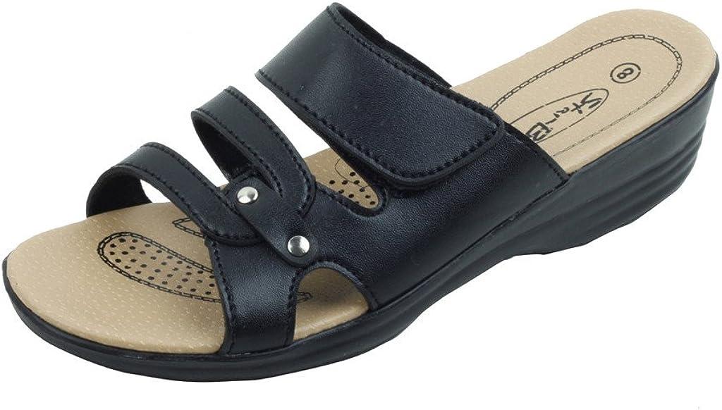 starbay New Women Comfort Slide Wedge Sanals