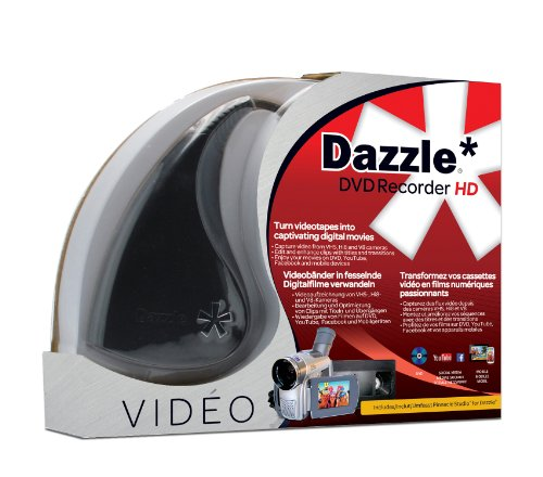 Corel 0735163141696 Dazzle DVD Recorder HD ML