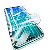 XLLXPZ 3 Stück 99D Hydrogel Film Bildschirmschutzfolie, Für Xiaomi Redmi Note 9 8 7 Pro Max 8T 9S 7A 8A K30 Pro, Weichfolie Nicht Glas