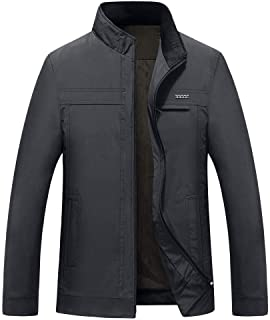 Sunward Coat for Men,Men's Winter Style Business Self-Cultivation Pure Color Coat