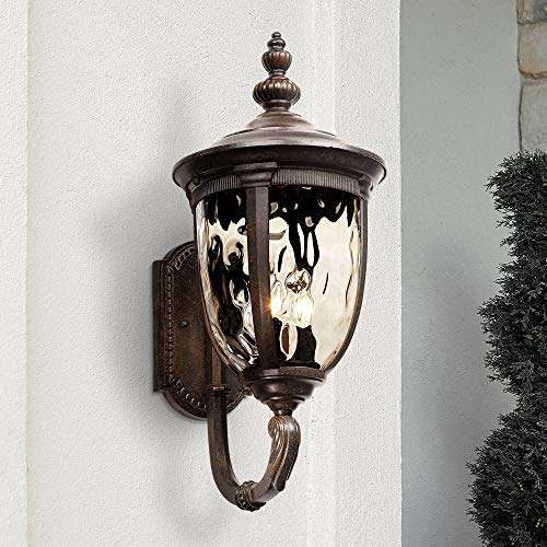 Bellagio Outdoor Wall Light Fixture Bronze 21