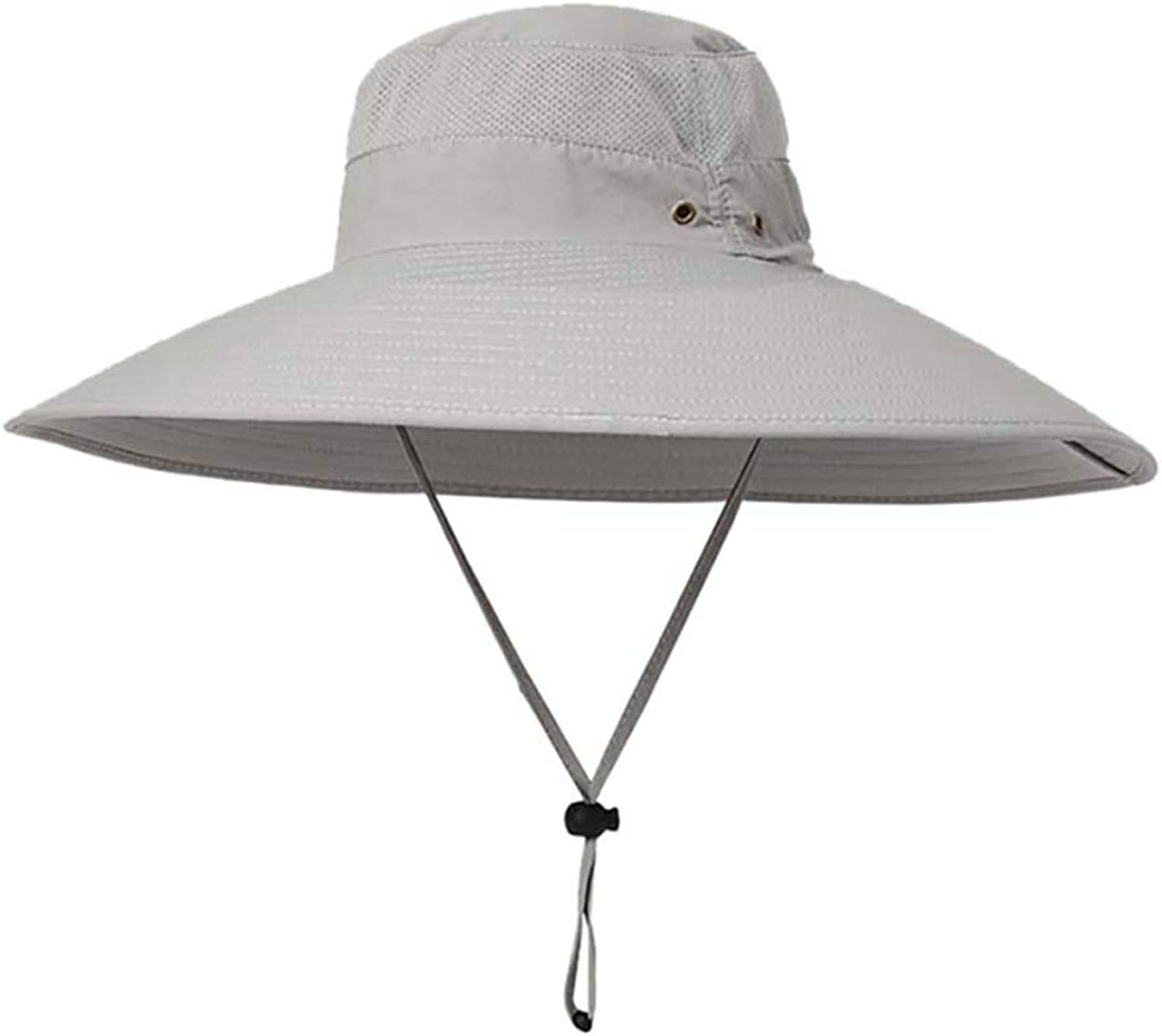 XDH-RTS 6.0 in Super Large Wide Brim Sun Hat Breathable Sun Predection Fishing Hiking Cap UPF 50+ Quick Dry Visors Men Women
